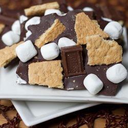 dark chocolate s'mores BARK!!! yeah, buddy!