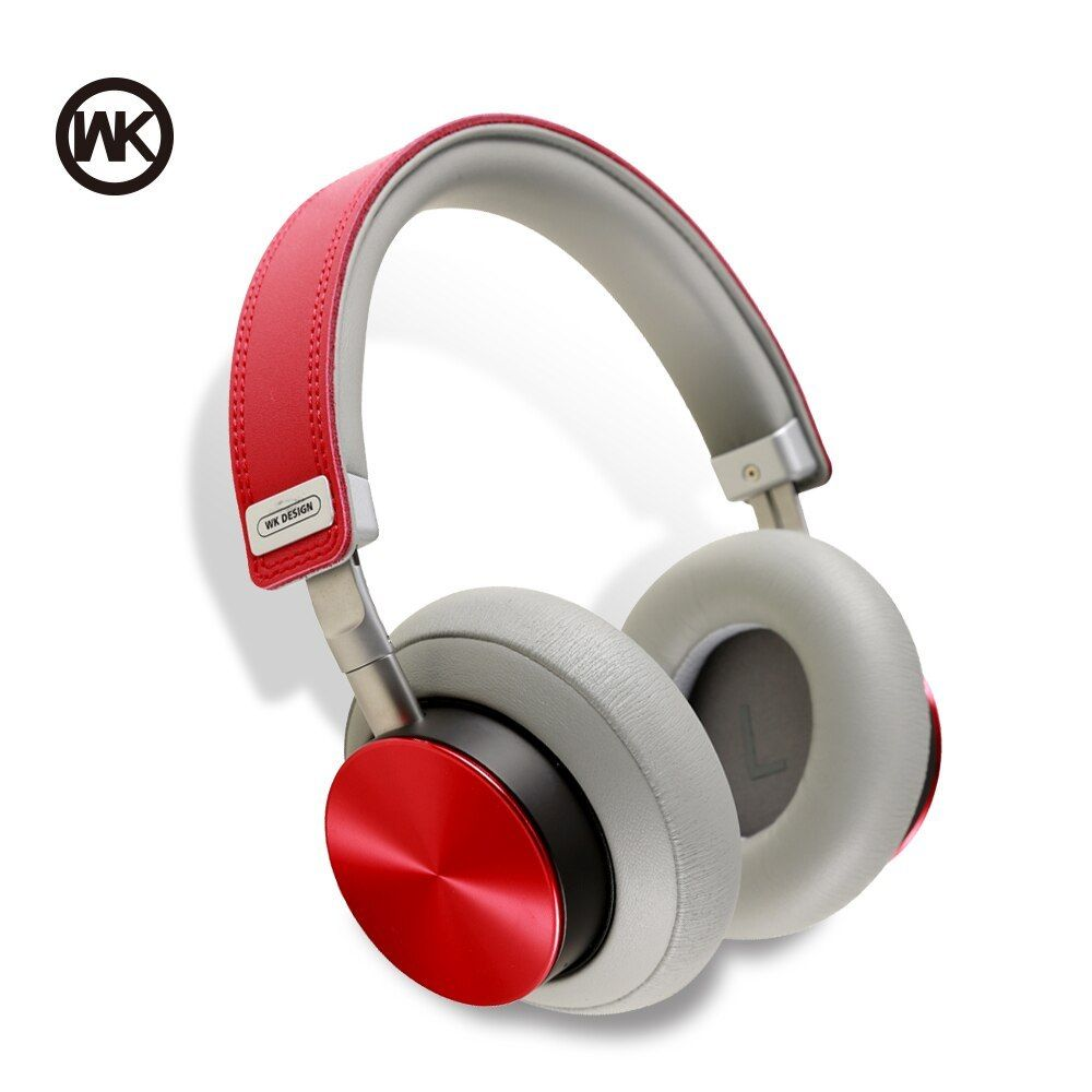 Wk Wireless Headphones Bluetooth Headset Foldable Headphone Adjustable Earphones With Microphone For Pc Mob Bluetooth Headphones Wireless Headphones Headphones