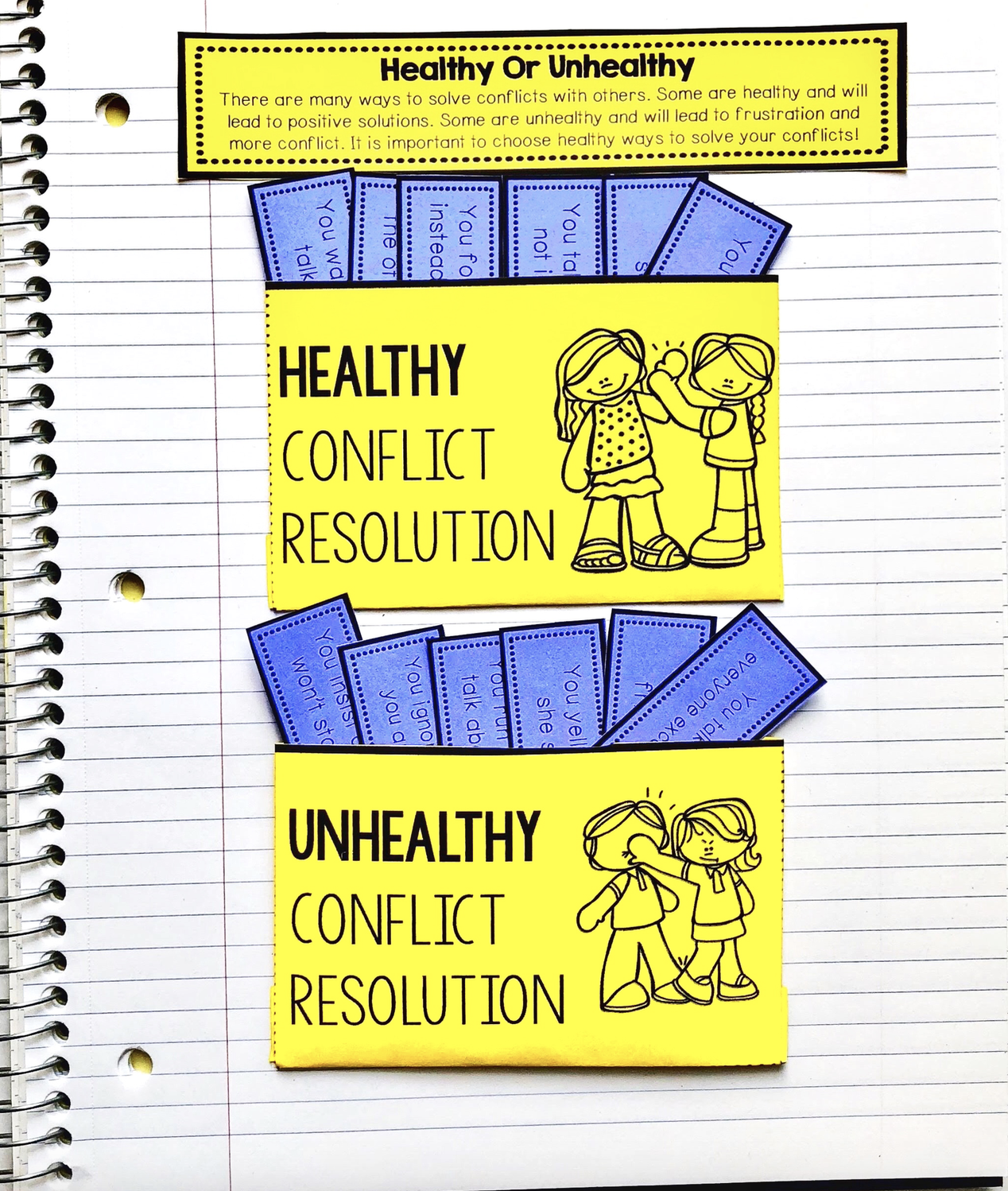 Conflict Resolution Activities For Sel And Counseling