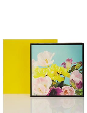 Insta Floral Card