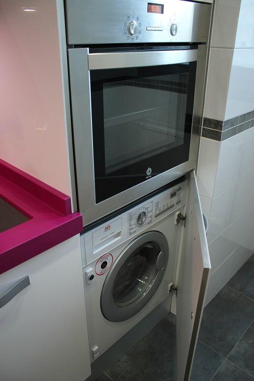 Como instalar una lavadora integrable en la cocina blogs - Instalar lavadora en bano ...