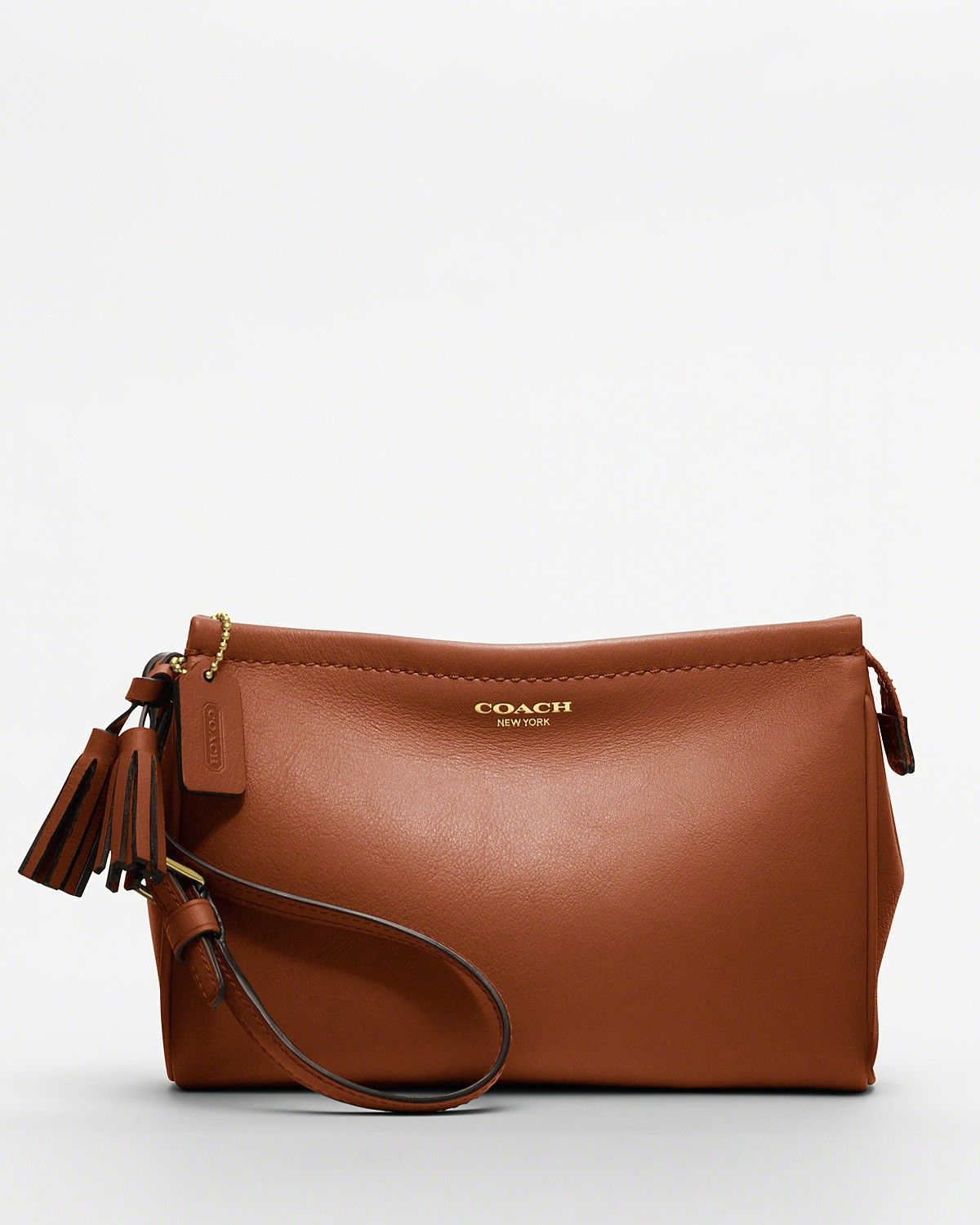 COACH Legacy Leather Large Wristlet | Bloomingdale's
