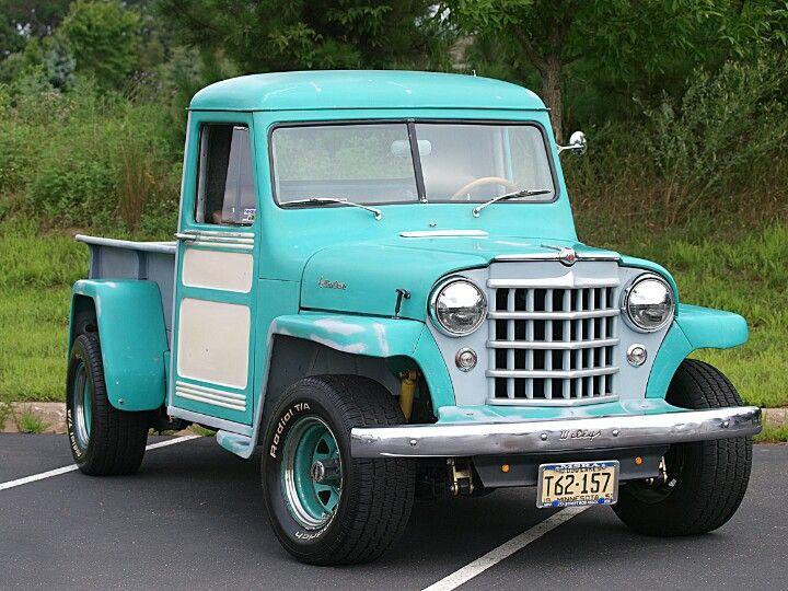 Willys Pick Up 1954 Camionetas Autos Vehiculos 4x4