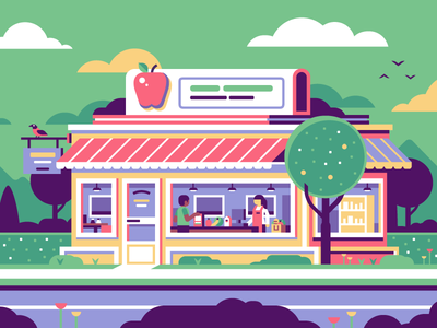 Grocery Store Grocery Store Easy Drawings Grocery Store Design