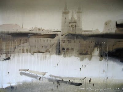 Watercolors by Alex Votsmush Russian Artist (3)