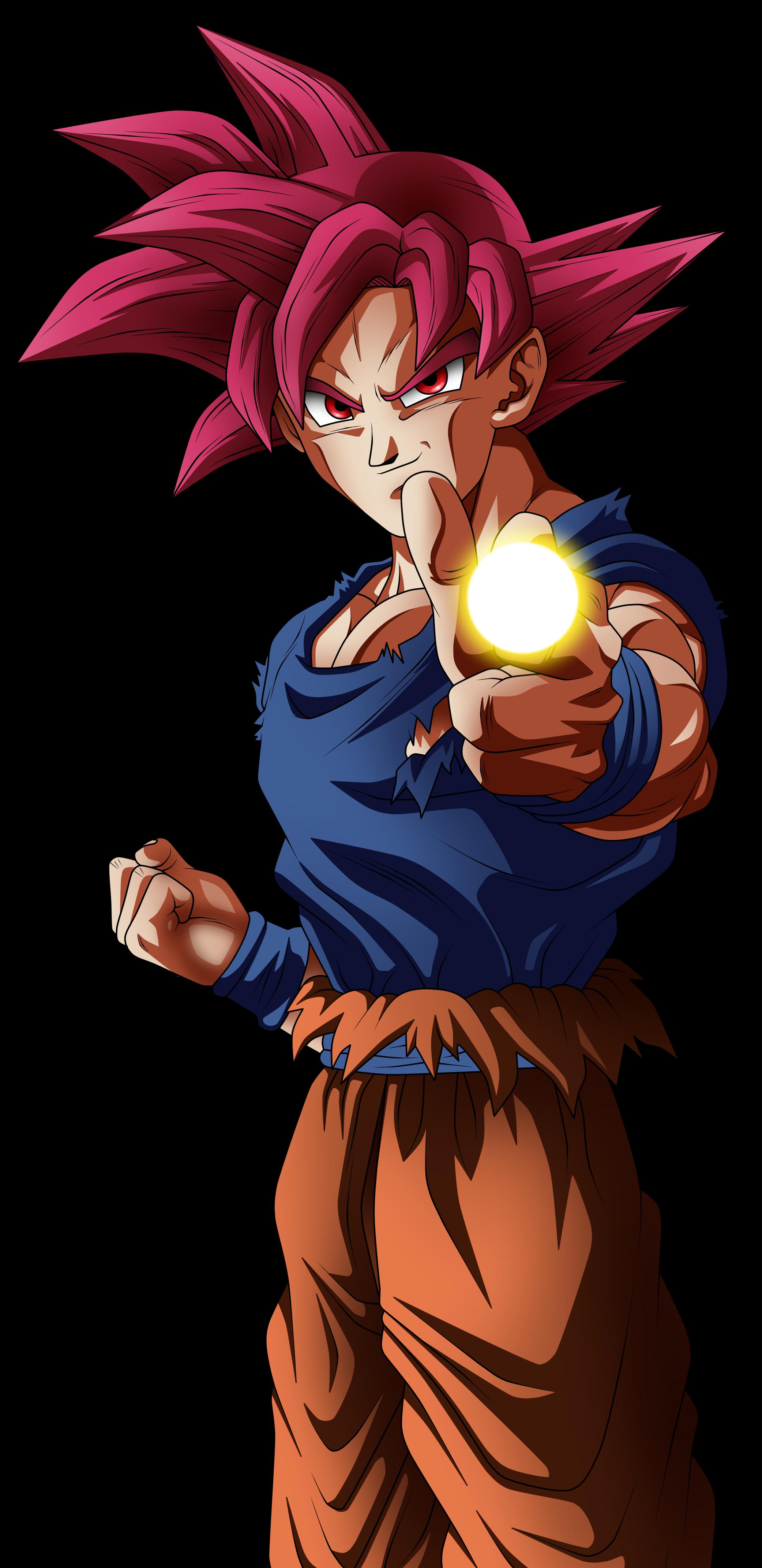 Super Saiyan God Goku By Angelarts2 Dbsslu1 Png 2083 4282 Super Sayajin Arte Sobre Aviacao Anime