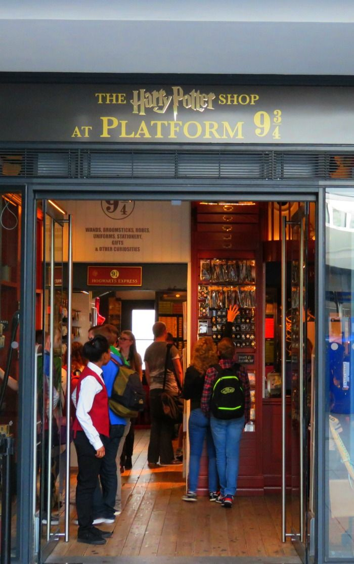 The Harry Potter Store In King S Cross Station In London England Tour Of Britain Harry Potter Tour Family Travel