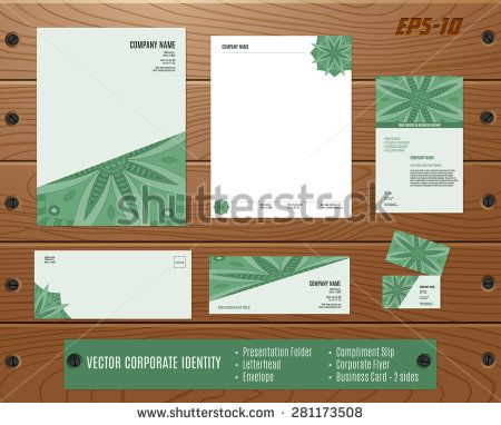 Collection Of Corporate Identities Presentation Folder