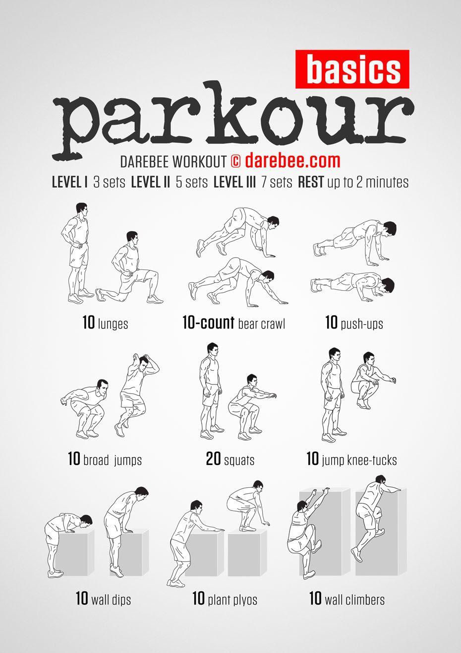 Parkour übungen