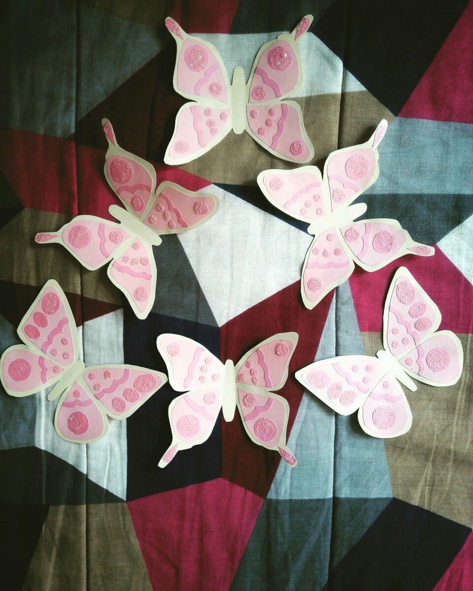 Decoración de Mariposas para Marco Central temática \