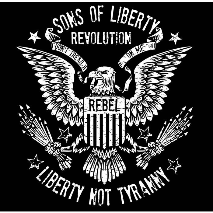 Liberty not tyranny revolution t shirt revolution for American revolutionary war tattoos