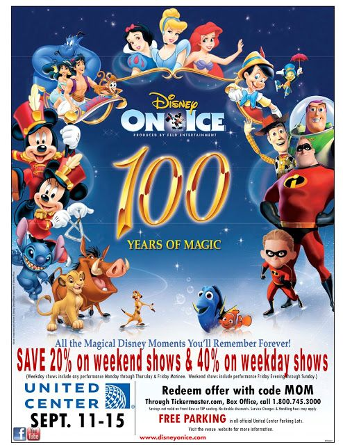 win free tickets to disney on ice