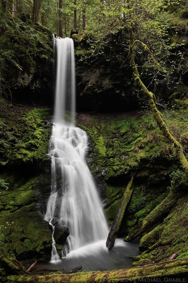 Upper Trestle Falls by *11thDimensionPhoto