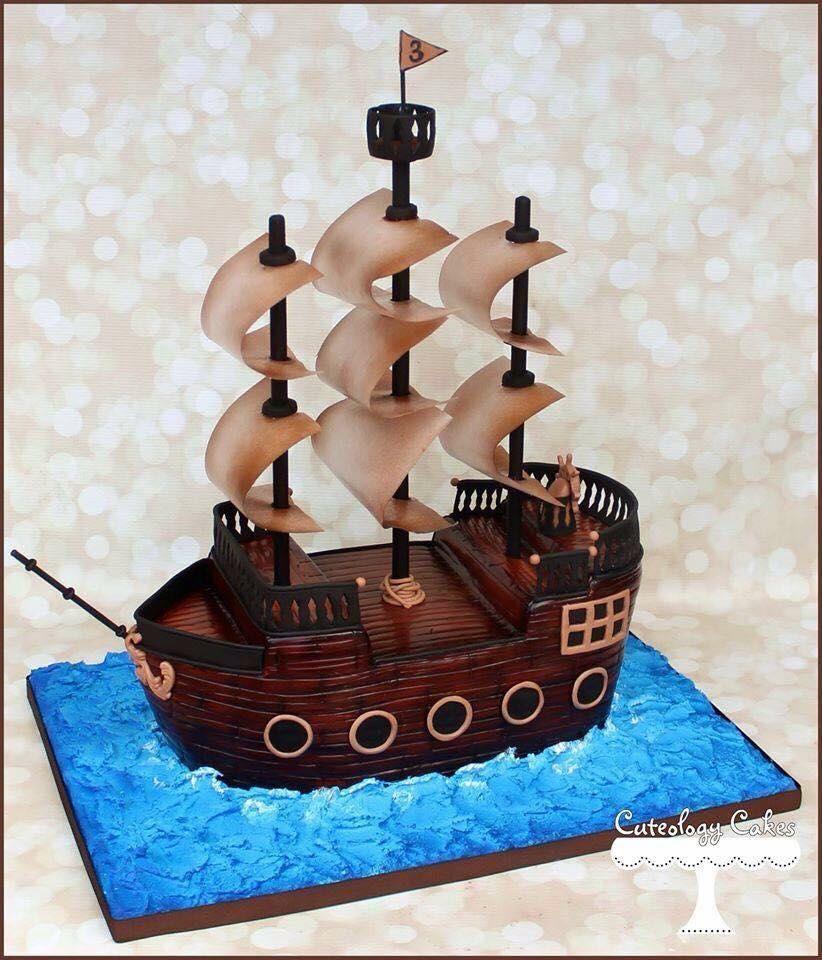 Pin by alyssa martin on cake ideas pirate birthday cake