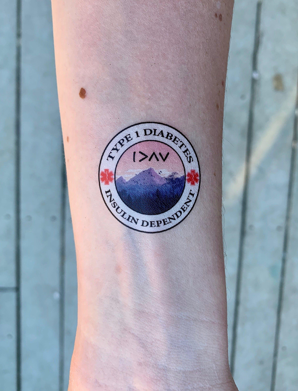 Insulin Dependent Diabetes Tattoo
