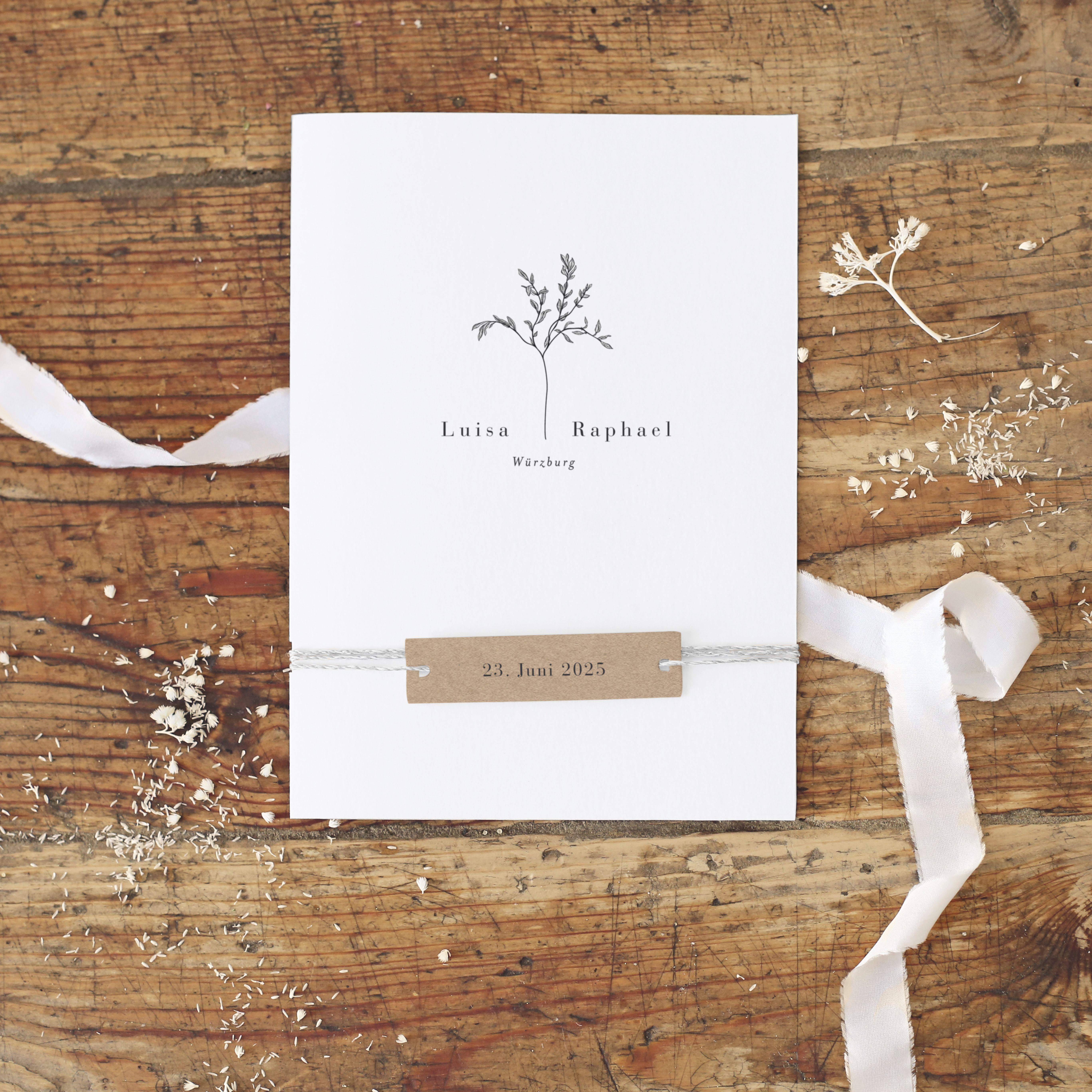Photo of Hochzeitseinladung | Herbarium