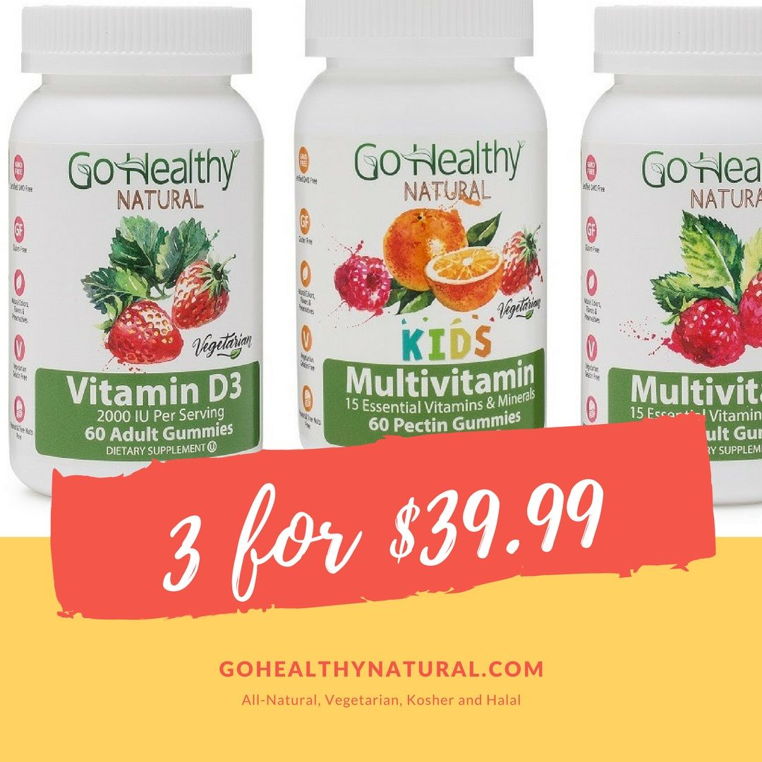 Pin by Go Healthy Natural on Best Tasting Vitamins