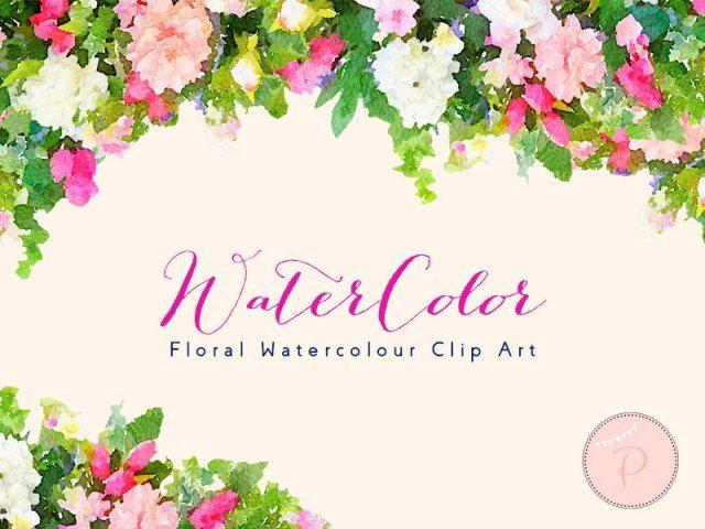 Blue Flower Clipart, Bachelors Buttons, Wreath Clip art ...