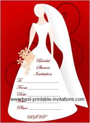Blank Bridal Shower Invitations Free Printable Invites Bridal Shower Invitations Printable Free Bridal Shower Invitations Free Bridal Shower Invitations