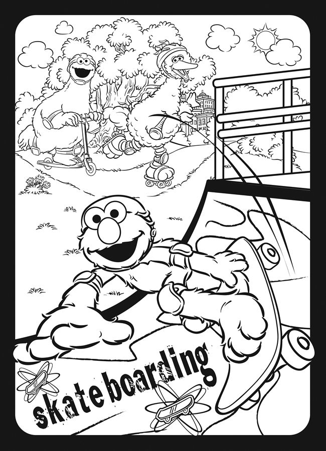 Sesame Street Boys Rock Stained Glass Coloring Book Dover Publications