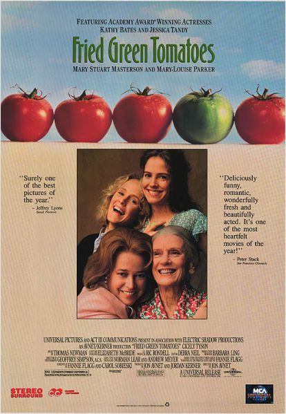 Image result for fried green tomatoes movie poster