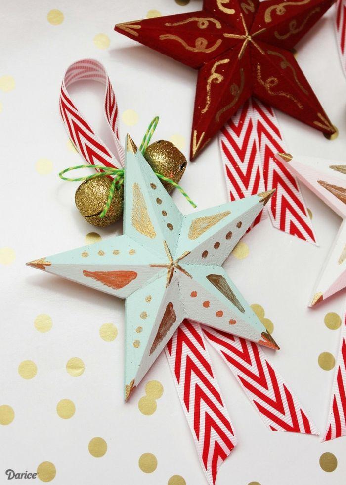 1001 Ideas De Estrellas De Navidad Hechas A Mano Estrellas De Navidad Manualidades Estrella De Navidad Manualidades