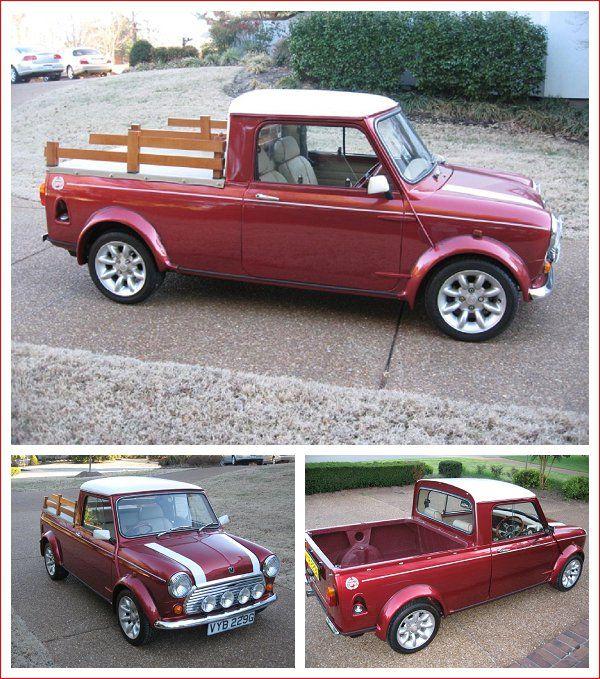 Mini Cooper S Pickup Mini Cooper Mini Trucks Cars Mini Cooper S