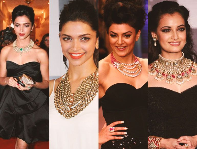how to wear traditional jewellery with western outfits | Western ...