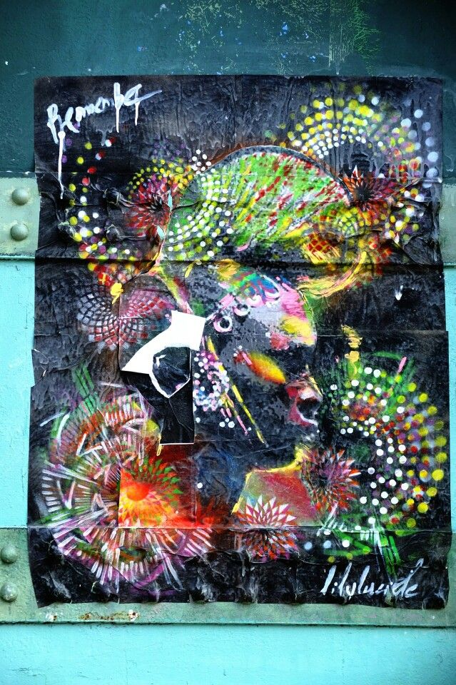 Paris 19 - rue de l'ourcq - street art