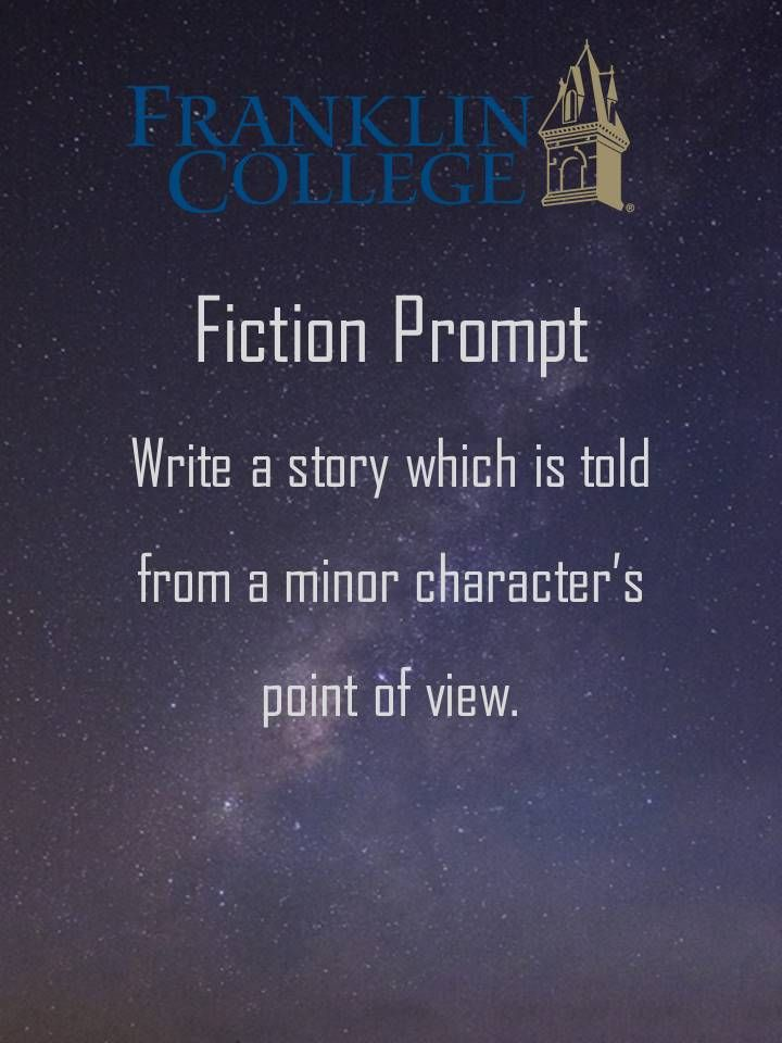 Pin by Franklin College Apogee on Writing Prompts | Writing prompts
