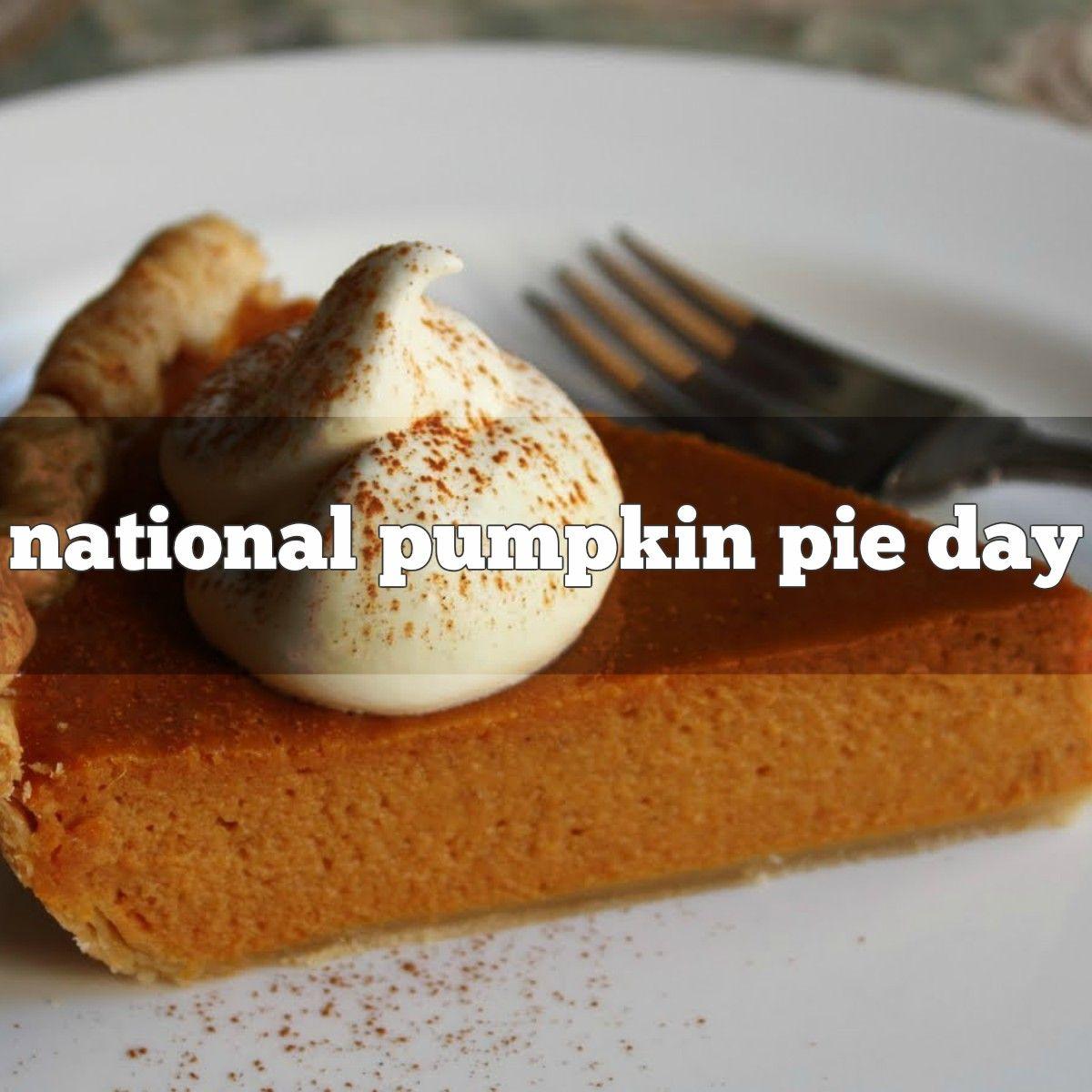 December 25 Is National Pumpkin Pie Day Pumpkin Pie Pie Day Pumpkin