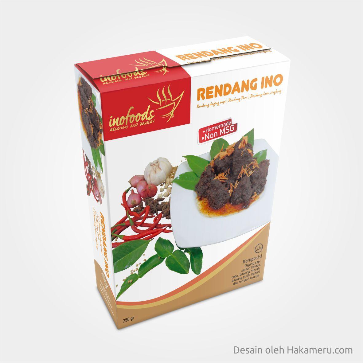 Packaging Makanan: Desain Kemasan Box Produk Makanan UMKM InoFoods