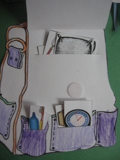 When you read My Father's Dragon, let your child make this fun backpack to remember all the things Elmer took with him on his adventure!  More great ideas for a full lapbook on this site if you wish, but this backpack idea can stand on its own for a more simple activity.