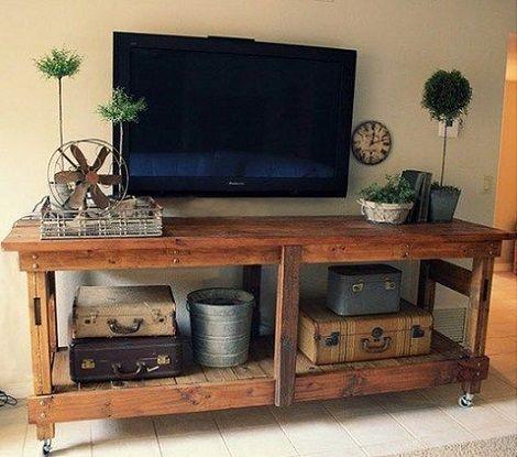 Cmo hacer muebles sencillos con palets decoracion Pinterest