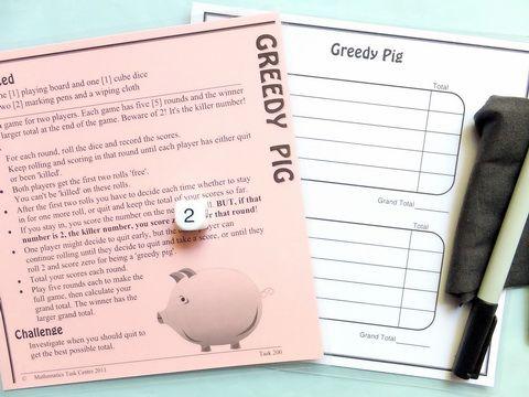 Statistics - Greedy Pig
