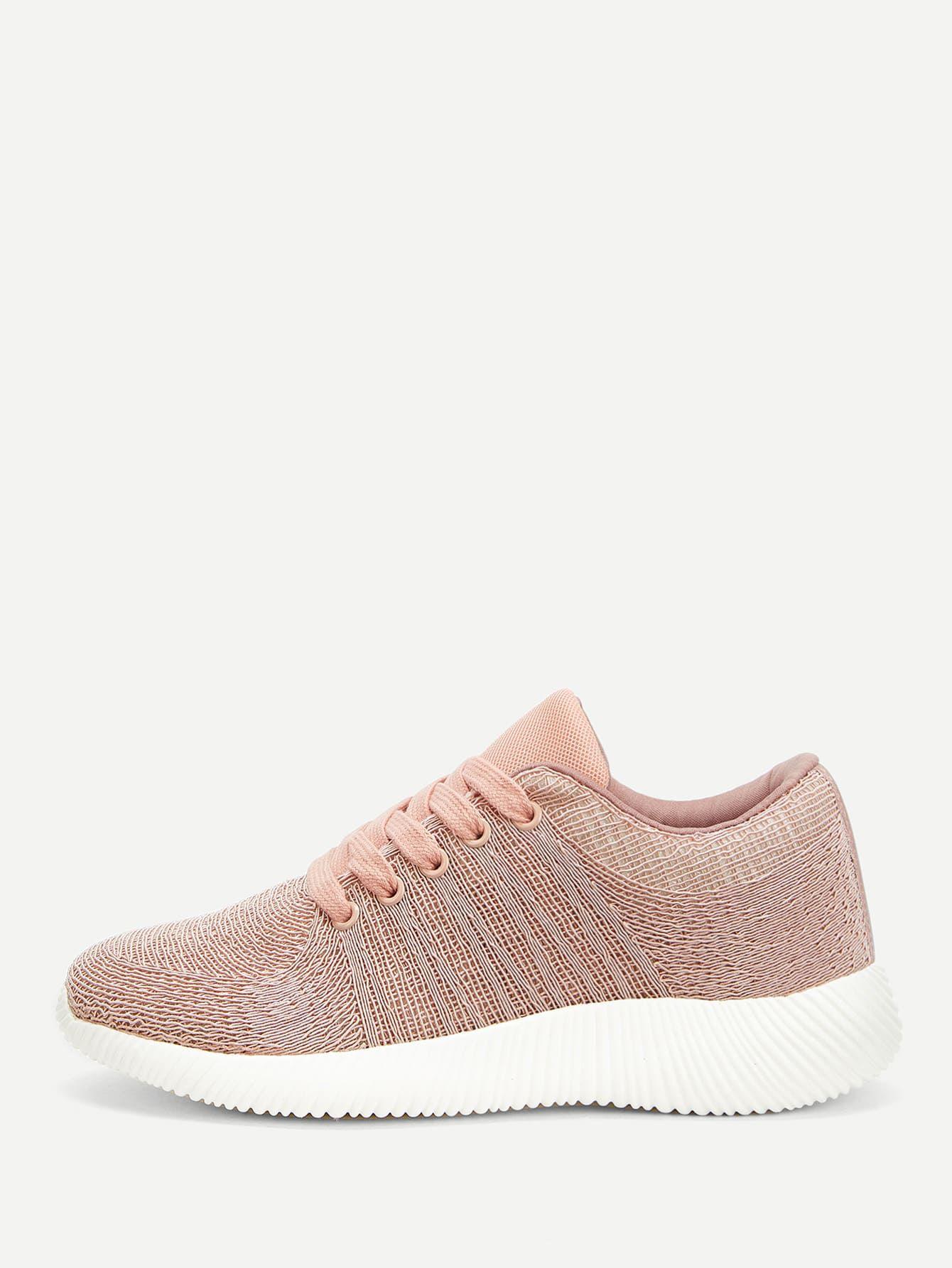 الدانتيل متابعة الجبهة أحذية رياضية متماسكة قد اشتريت منتج رائع من موقع شي إن أرغب في أن أوصيكم بشرائه مريحه Lace Sneakers Lace Up Heels Knit Sneakers