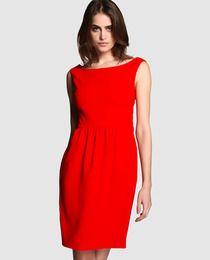 be1e3f120 Vestido de mujer Boutique Moschino en crepe rojo | artista en mi ...