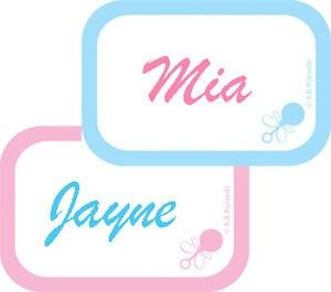 If You Need Cute, Inexpensive Name Tags For Your Baby Shower Guests, Or Gift