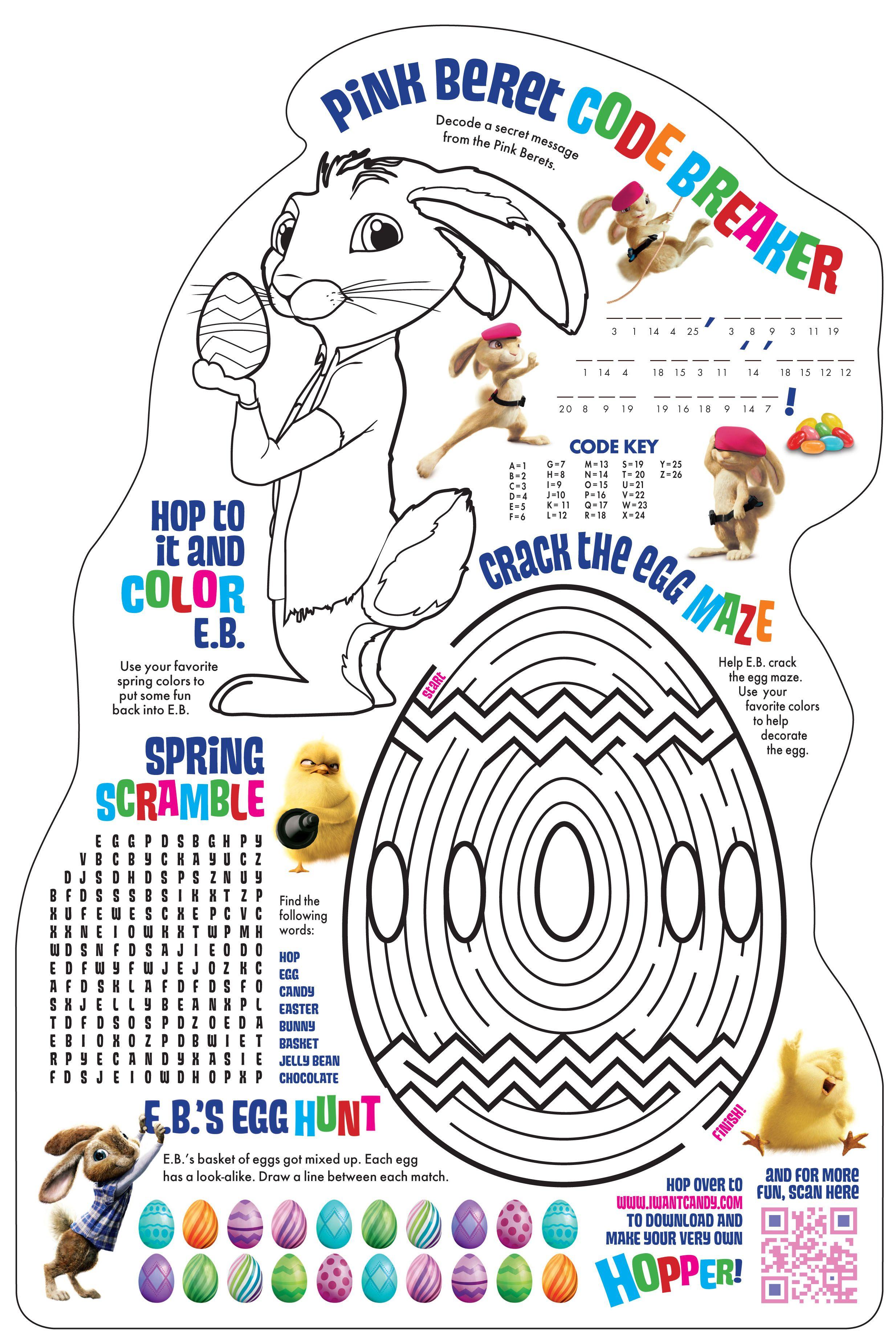 Hop Activities Sheet Download This And More At Hopmovie