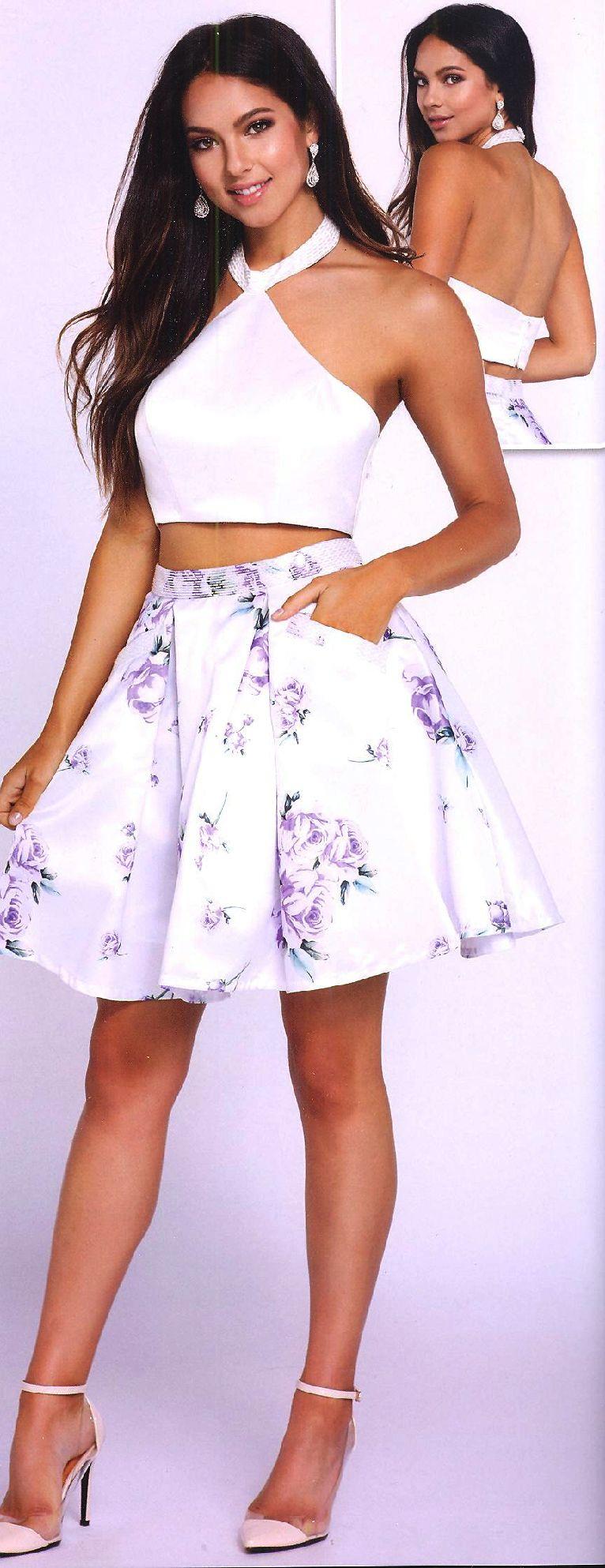 Teo piece homecoming dresses sweet dresses underu mini vestido