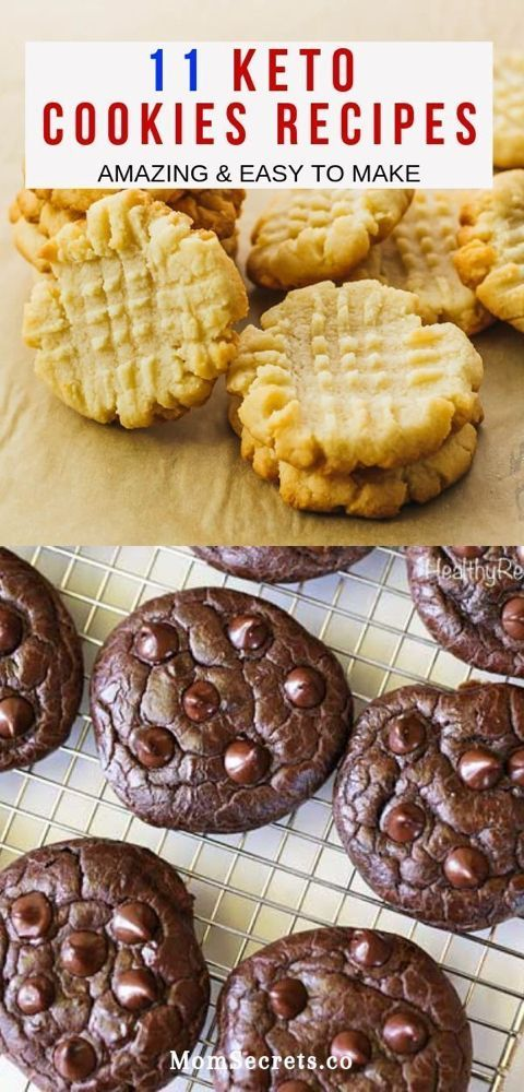 Keto Cookies - Paleo, Low Carb & Healthy Recipes These cookies recipes have delicious flavors. They are easy and quick to make and they are low carb, sugar-free, gluten-free!These cookies recipes have delicious flavors. They are easy and quick to make and they are low carb, sugar-free, gluten-free!