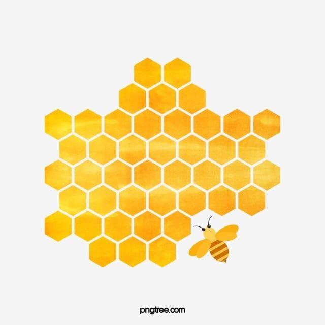 Cartoon Honeycomb Png And Psd Honeybee Art Honeycomb Cartoon Clip Art