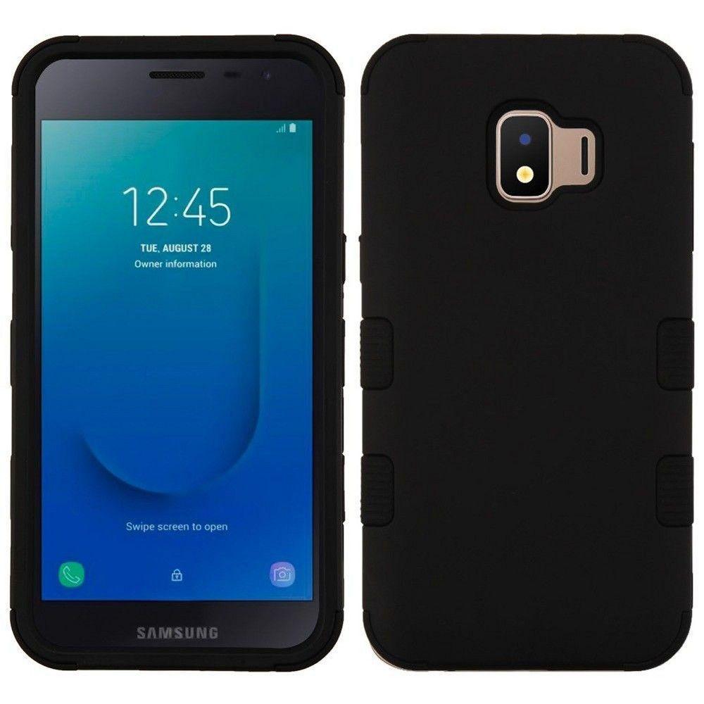 Valor Tuff Hard Hybrid Tpu Cover Case For Samsung Galaxy J2 2018 J2 Core J260 Black Samsung Galaxy Galaxy Samsung