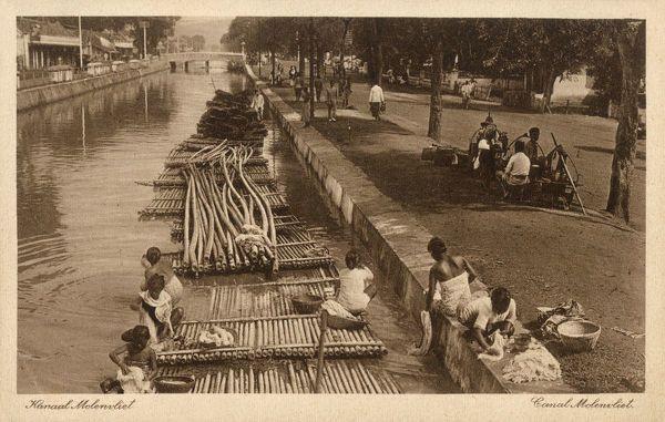 Poster Print-Indonesia - Java - Jakarta - Molenvliet Canal-16