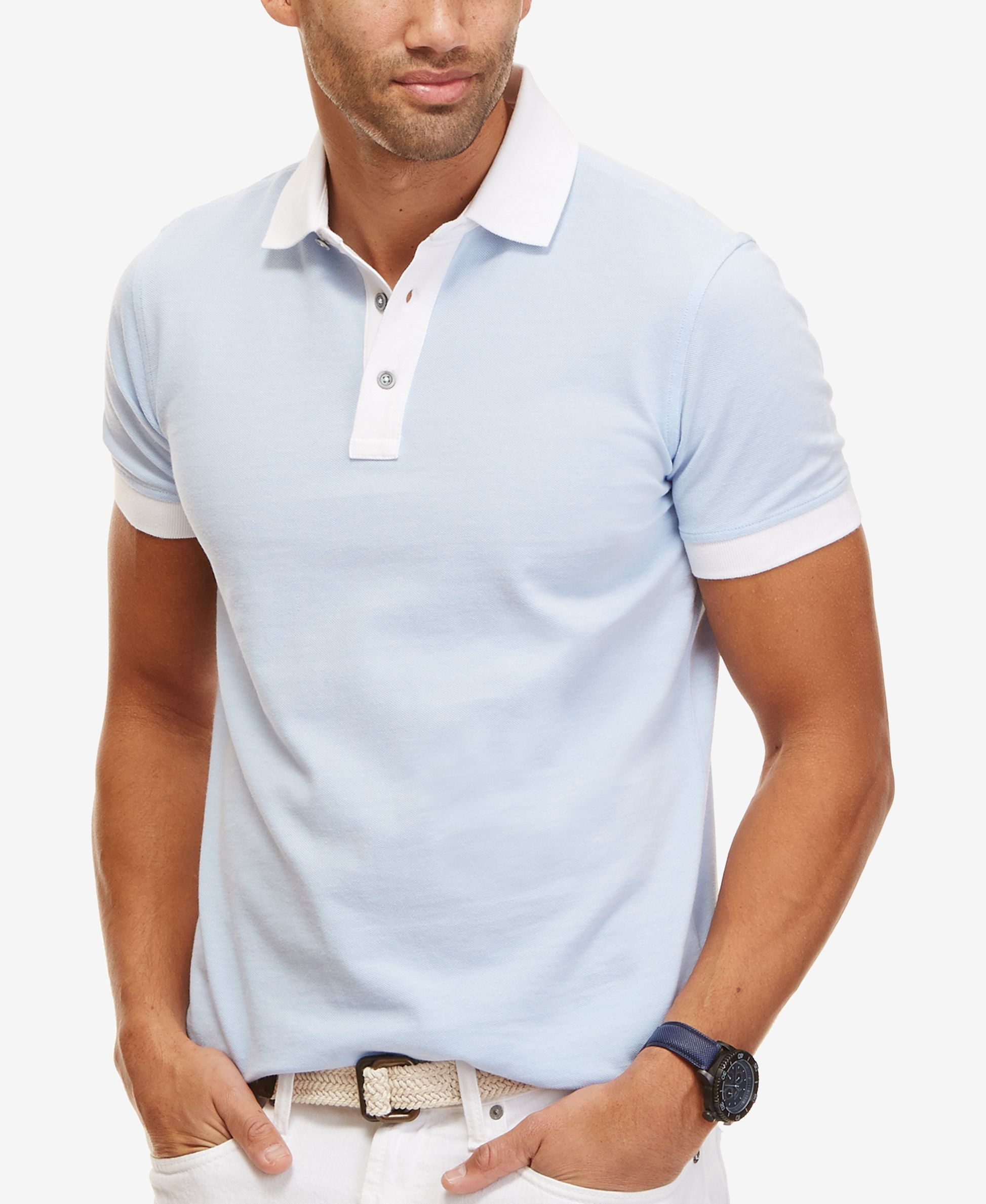 slim fit polo t shirts small