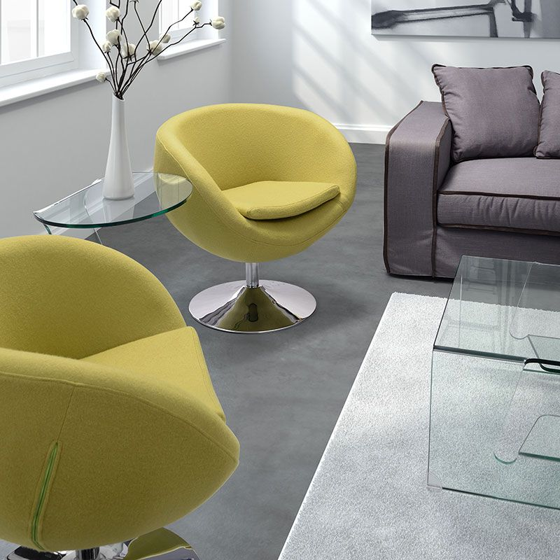 The Vibrantly Colored Liege Lounge Chair Brings A Bold Twist To A Classic  Lounge Chair Design