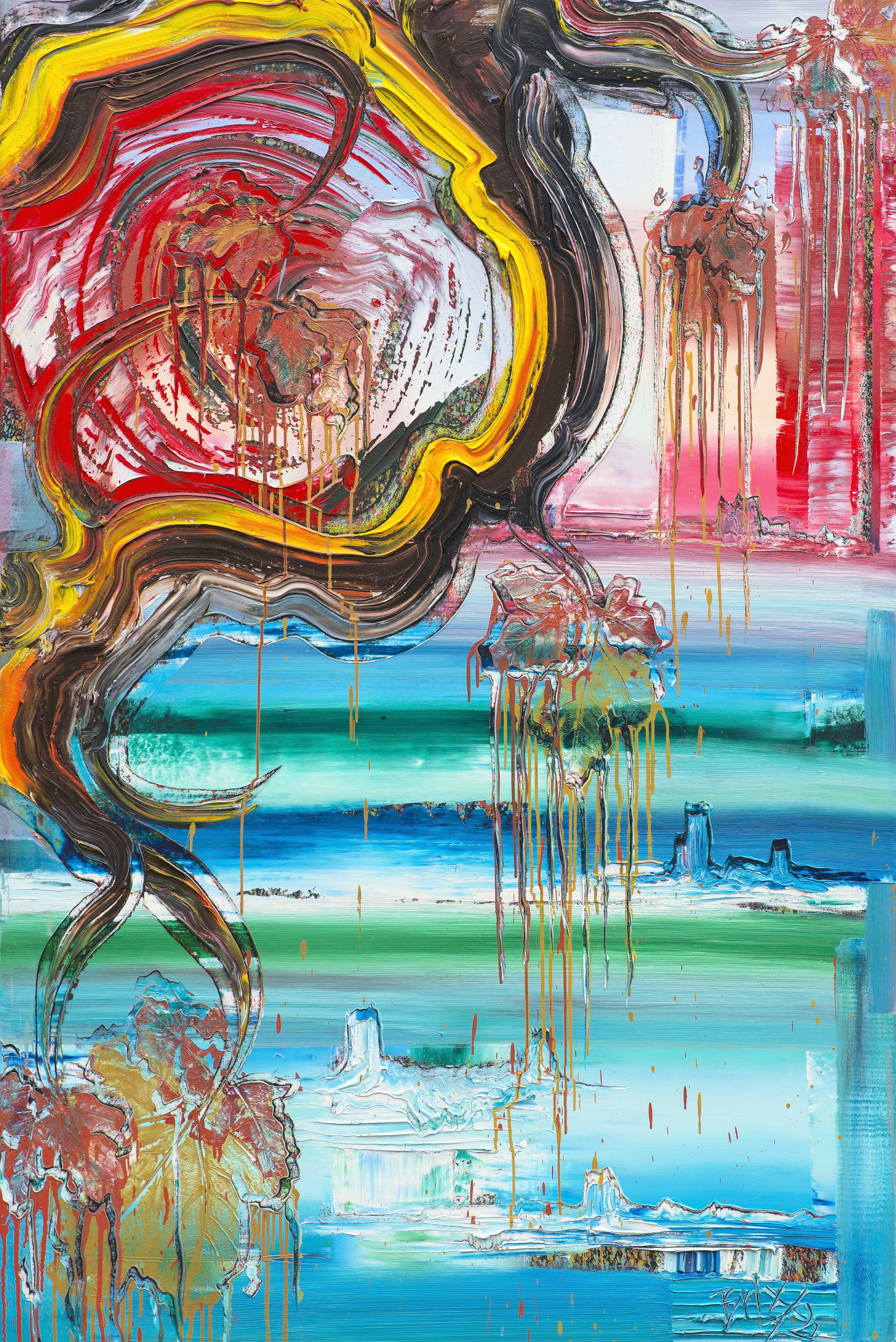 brixy horizon moderne kunst 2018 180x120 oil canvas gemalde zeitgenossische bilder auf leinwand modern mona lisa