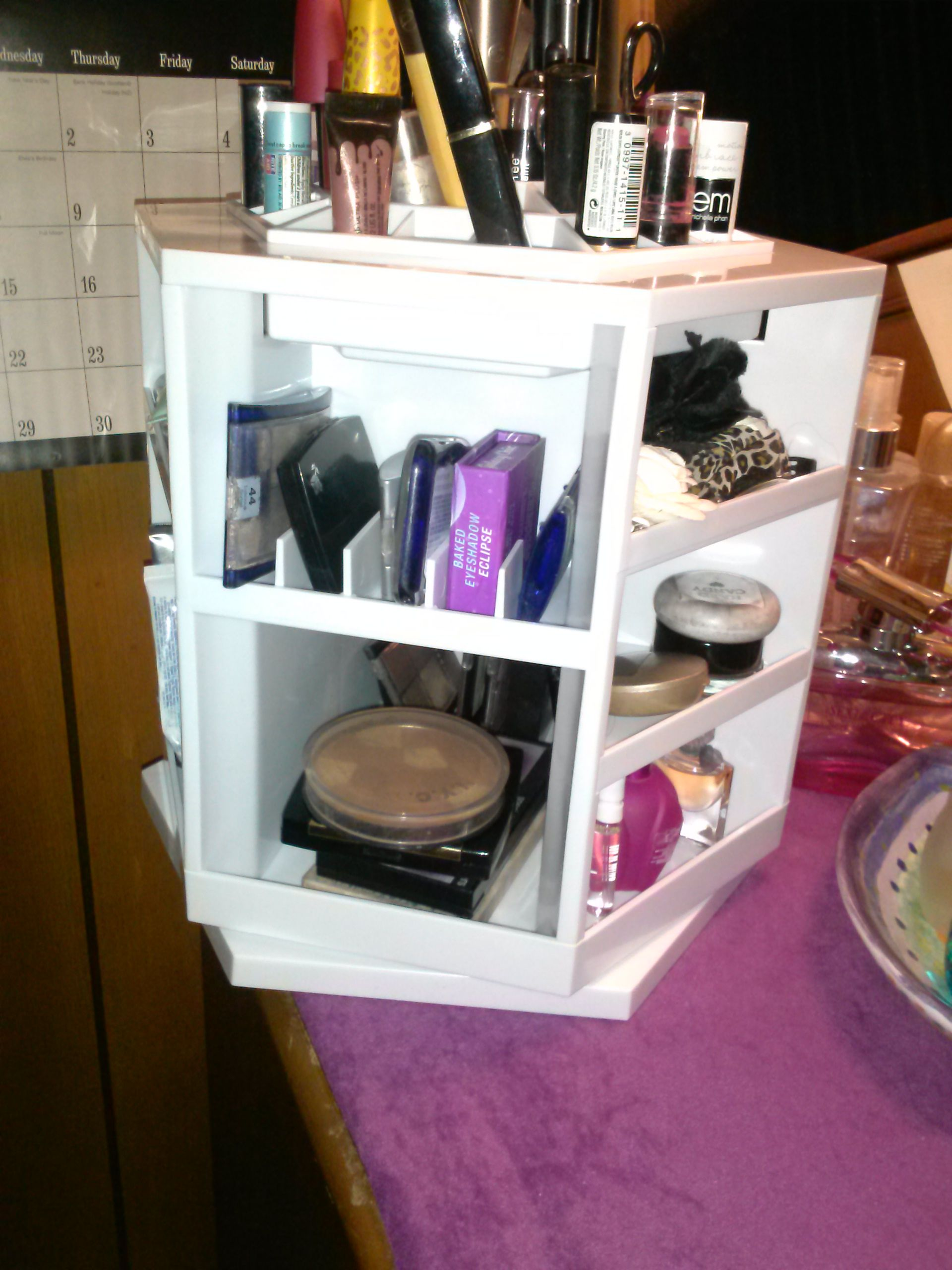 Qvc Makeup Organizer Magnificent Qvc Makeup Organizer Love This Ordenando La Casa  Pinterest