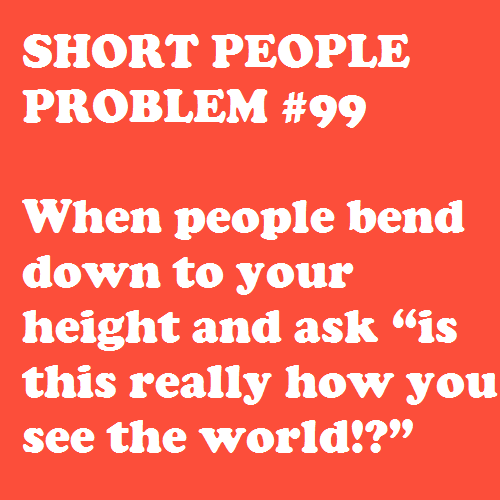 Hahaha I Make Gunnar Squat Down To My Height All The Time