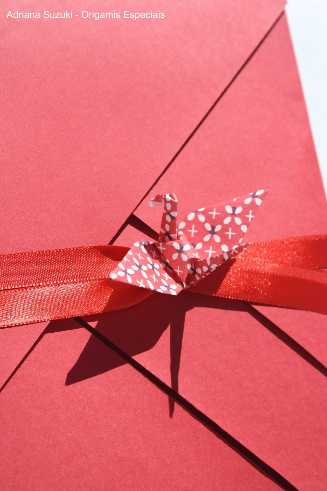Adriana Suzuki: Envelopes de origami para convites de casamento ...